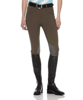 Walnut Olympia Regular Riding Pants - Women