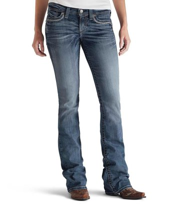 Turquoise Essential Chain Lone Star Boot Cut Jeans - Women