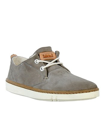 Gray Hookset Leather Oxford