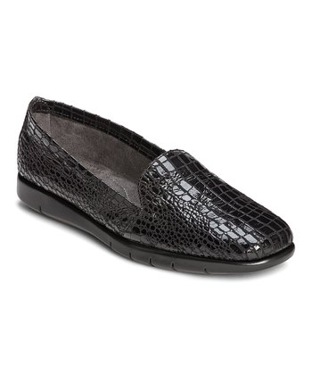 Black Army Loafer