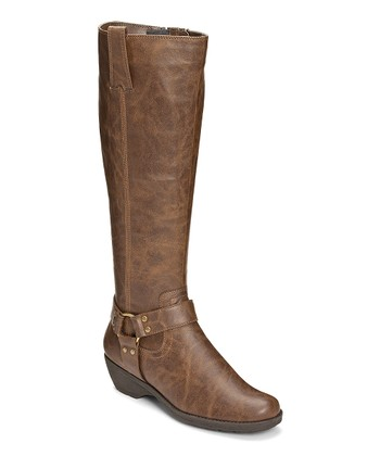 Brown Mezzotint Wide Calf Boot