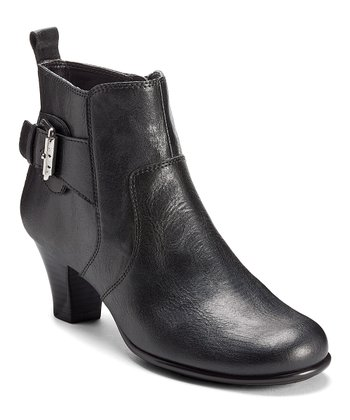 Black Aquamarine Ankle Boot