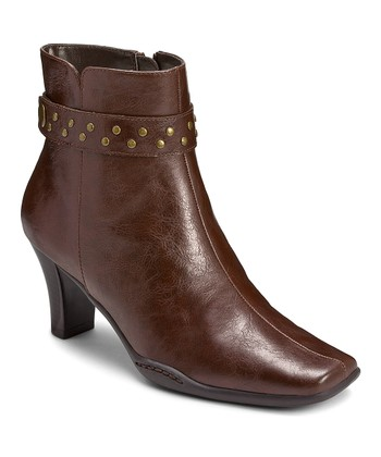 Brown Cingalong Ankle Boot