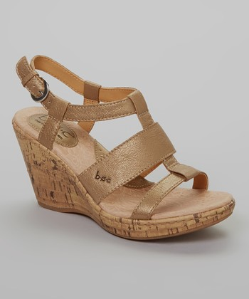 Sun Bronze Farris Wedge Sandal