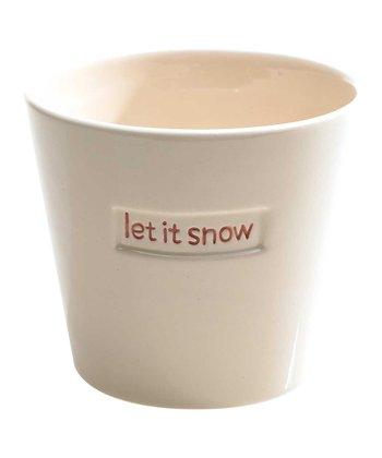'Let it Snow' Pot