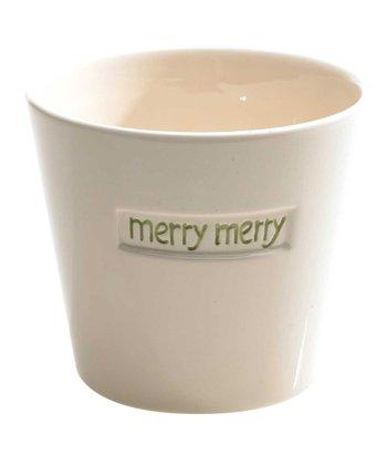 'Merry Merry' Pot