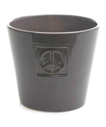Peace Sign Yule Pot