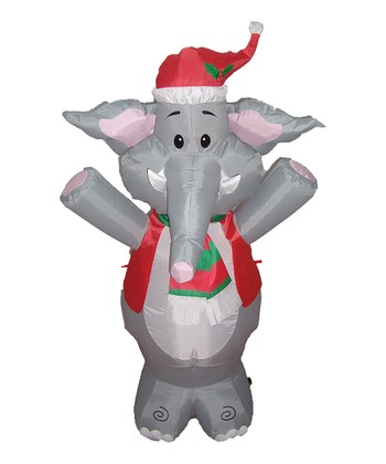 Elephant Inflatable Lawn Ornament