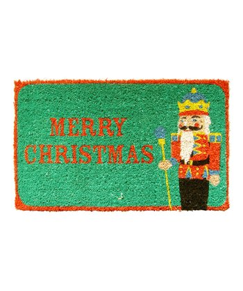 Nutcracker Handwoven Doormat