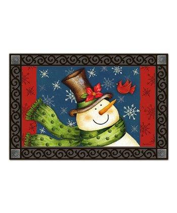 Welcome Snowman MatMate Doormat