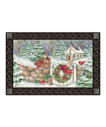 Snow Chapel MatMate Doormat