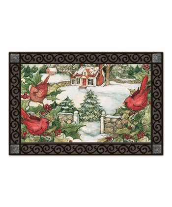 Winter Cottage MatMate Doormat