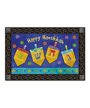Happy Hanukkah Doormat