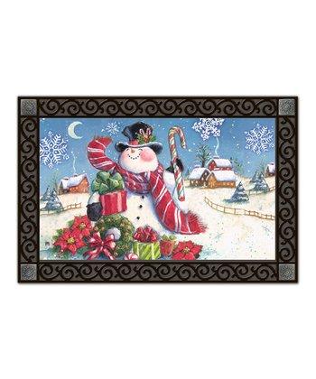 Village Snowman MatMate Doormat