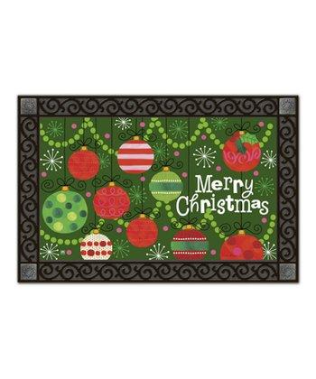 'Merry Christmas' Ornament MatMate Doormat
