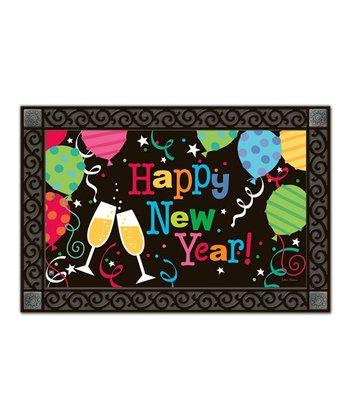 New Year Party MatMate Doormat