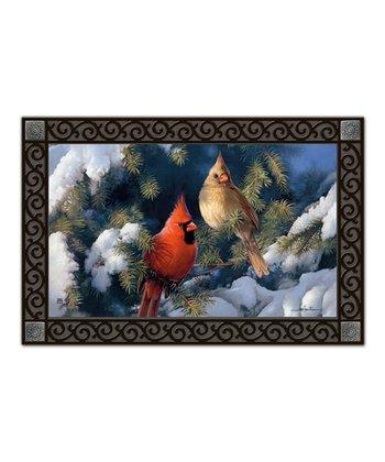 Cardinal Couple MatMate Doormat