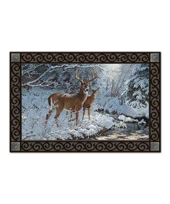 Creek Side Deer MatMate Doormat
