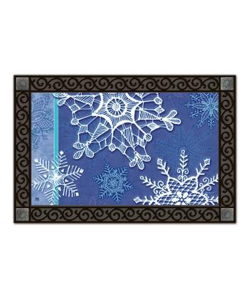 Winter Crystals MatMate Doormat