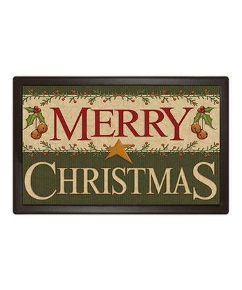 'Merry Christmas' MatMate Doormat