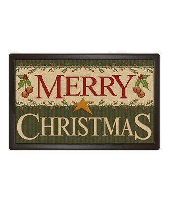 'Merry Christmas' MatMate Doormat