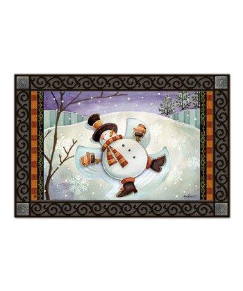 Snow Angel MatMate Doormat