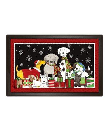 Christmas Dogs MatMate Doormat