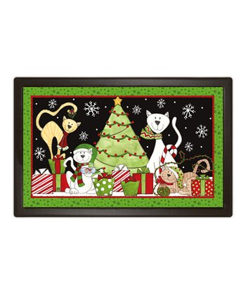 Christmas Cat MatMate Doormat