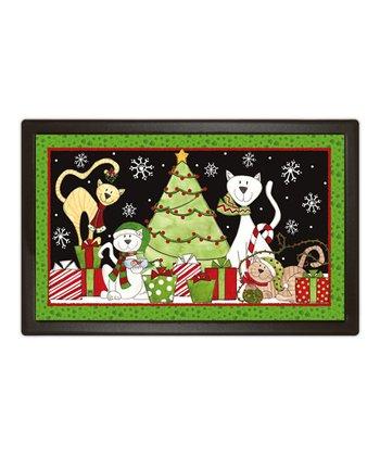 Christmas Cat MatMate Doormat