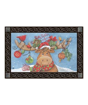 Merry Christmoose MatMate Doormat