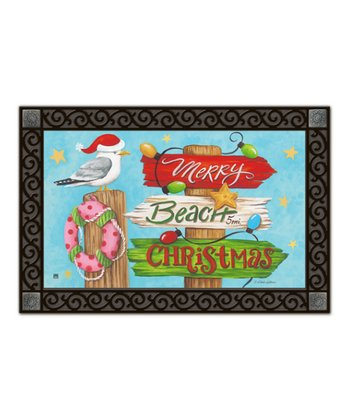 Holiday Beach MatMate Doormat
