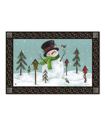 Woodland Snowman MatMate Doormat