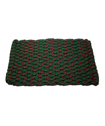 Christmas Rockport Rope Mat