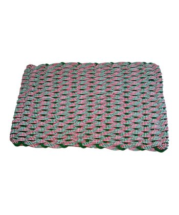 Checkered Rockport Rope Mat