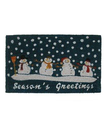 Snowmen Doormat