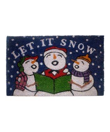'Let It Snow' Doormat