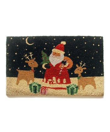 Santa & Reindeer Doormat