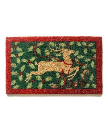 'Noel' Deer Doormat