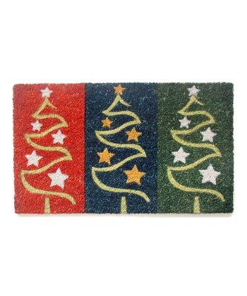 Holiday Trees Doormat