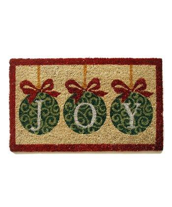 'Joy' Doormat