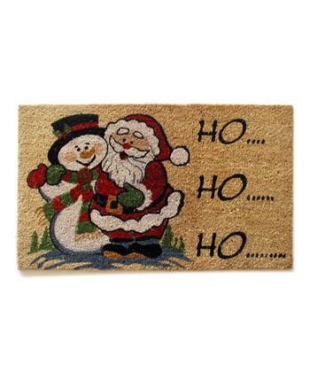 'Ho Ho Ho' Doormat