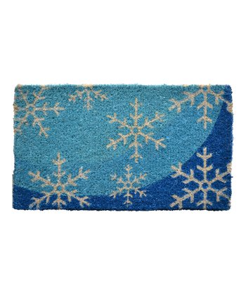 Blue Flakes Doormat