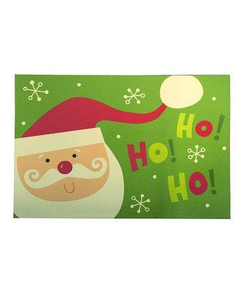'Ho! Ho! Ho!' Santa Comfort Cushion Indoor Mat