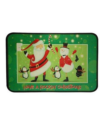 Swing Santa Outdoor Musical Mat