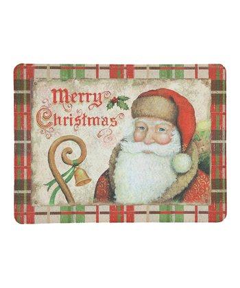Santa Vintage Doormat