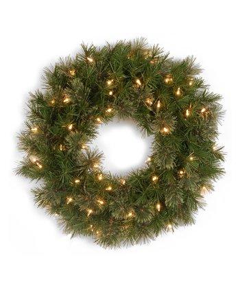 Atlanta Spruce Lighted Wreath
