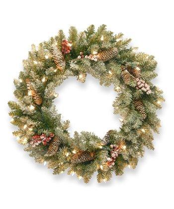 Dunhill Fir Lighted Wreath