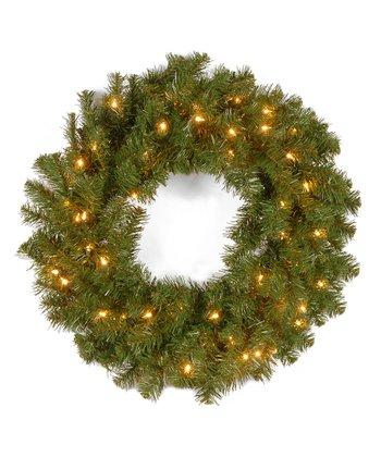 Kincaid Spruce Clear Lighted Wreath