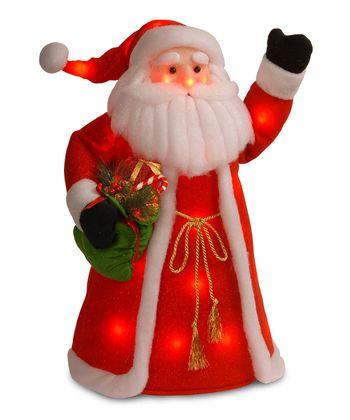 Standing Santa Lighted Decoration