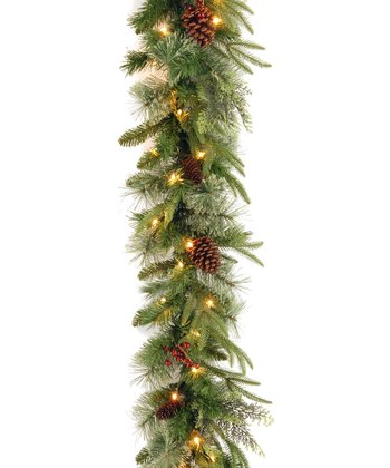 9' Colonial Lighted Garland
